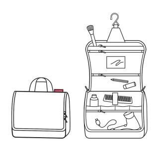Reisenthel Cosmetic Toiletbag XL Twist Silver Toilet Kit