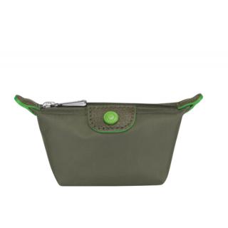 Longchamp Le Pliage Club Green Wallet Sapin