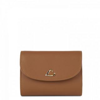 Lancaster City Back-to-Back Wallet 123-22 Hazelnut