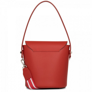 Lancaster City Aquarius Bucket Bag A Flap 432-48 Red