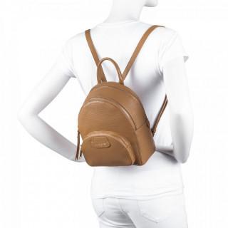 Lancaster Dune Mini Leather Back Bag 529-61 Camel