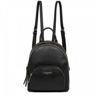 Lancaster Dune Mini Leather Back Bag 529-61 Black