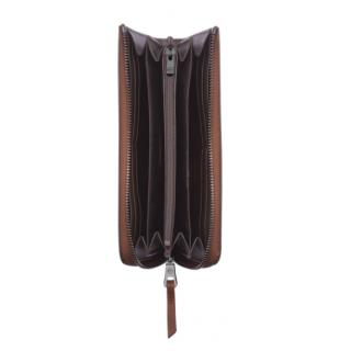 Longchamp 3D Portefeuille Long Cognac