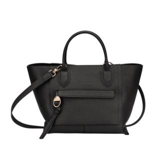 Longchamp Mailbox Porté Main M Black