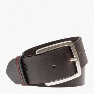 Serge Blanco Brown Leather Belt