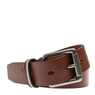 Serge Blanco Leather Belt MT12167 Brown