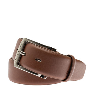 Serge Blanco Leather Belt MT12168A Brown
