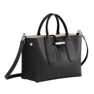 Longchamp Roseau Porté Main M Noir