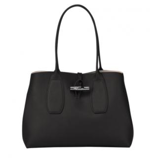 Longchamp Black Shopping Roseau