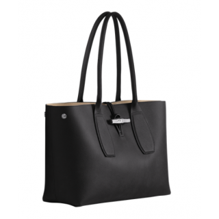 Longchamp Roseau Shopping Noir