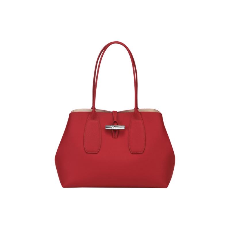 Longchamp Roseau Shopping Rouge