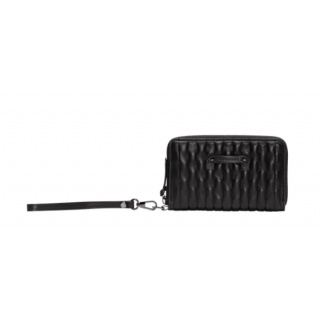 Longchamp Amazon Black Wallet