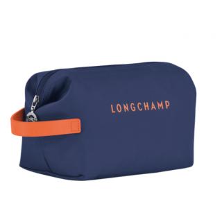 Longchamp Cocagne Trousse de Toilette Marine