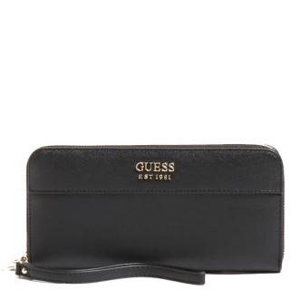 Guess Katey Compagnon Large Zip Around Black
