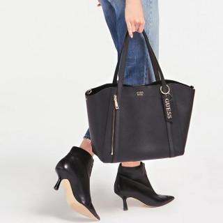 Guess Naya Shopping Bag and Pocket 2 in Black