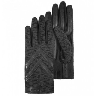 Isotoner Women's Gloves Stretch Compatibles Printed Tactile Screens