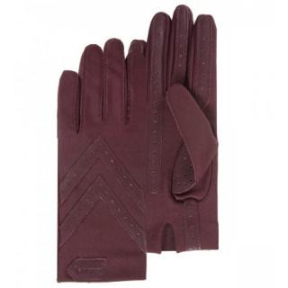 Isotoner Gants Femme Stretch Compatibles Écran Tactile Bordeaux
