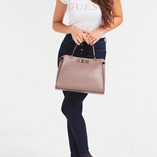 Guess Uptown Chic Sac A main Taupe