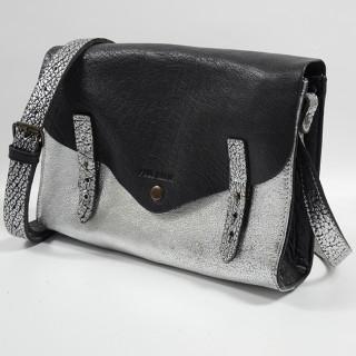 Paul Marius L'Indispensable Crossbody Bag Silver Black