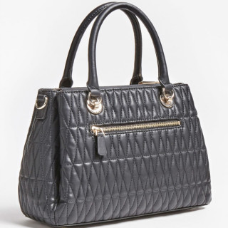 Guess Brinkley Sac Bowling Surpiqué Black