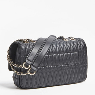 Guess Brinkley Sac Trotteur Surpiqué Black dos