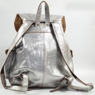 "Paul Marius Lemeridien Bag A Back for PC 15"" Silver Amber"