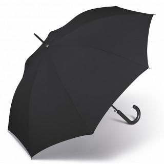 Happy Rain Parapluie Femme Canne Automatique Black