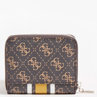 Guess Jensen Portefeuille Compact Brown