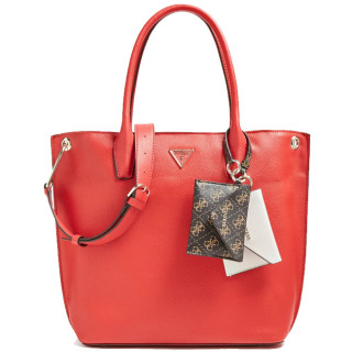Guess Kirby Bag Shopping Red