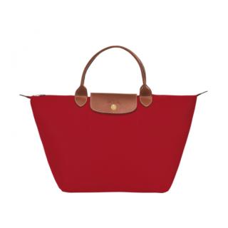 Longchamp Le Pliage Original Sac A Main M Rouge