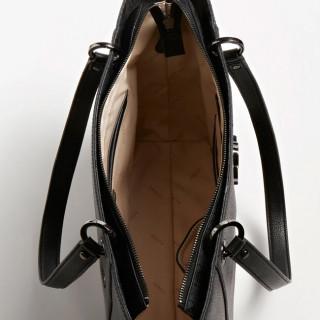 Guess Noelle Bag Cabas 4G Brown