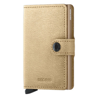 Secrid Miniwallet Antique Gold Card Holder