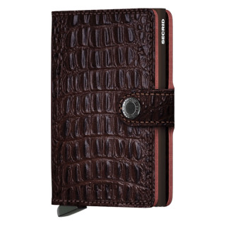 Secrid Door Miniwallet Nile Brown Card