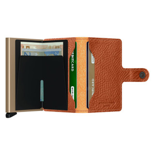 Secrid Card Holder Miniwallet Veg Caramelo Sand