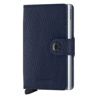 Secrid Miniwallet Navy Silver Card Holder