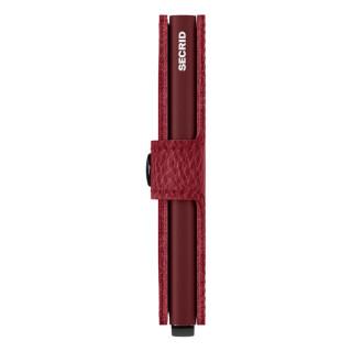 Secrid Porte-Carte Miniwallet Veg Rosso Bordeaux
