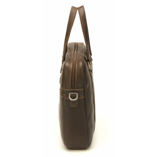 Arthur & Aston Johany Chataigne Leather Briefcase