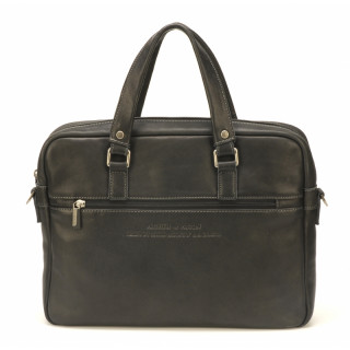 Arthur & Aston Johany Porte-documents Cuir Noir