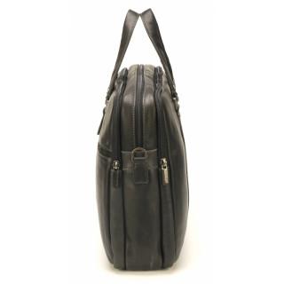Arthur & Aston Johany Grand Porte Black Leather Documents
