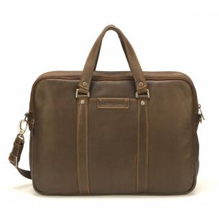 Arthur & Aston Johany Grand Porte Chataigne Leather Documents