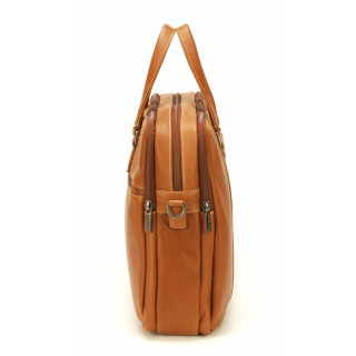 Arthur & Aston Johany Grand Porte Documents Leather Cognac