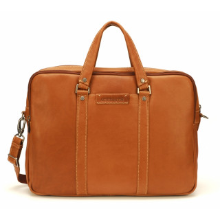 Arthur & Aston Johany Grand Porte Documents Cuir Cognac