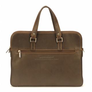 Arthur & Aston Johany Porte Slim Documents 2 Chataigne Leather Blows