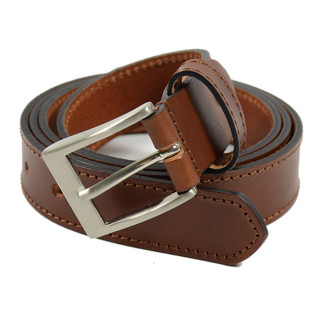 JL Fourès Baroudeur Leather Belt Male F50311 Cognac