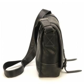 Arthur & Aston Johany Bag Black Leather Reporter