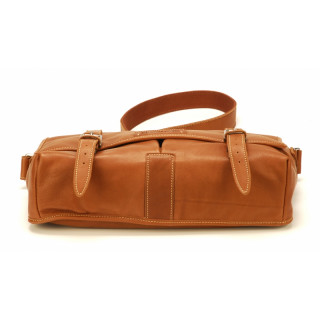 Arthur & Aston Johany Bag Reporter Leather Cognac