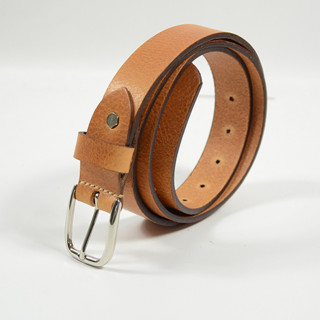 JL Fourès Leather Belt Missouri Men f50620 Gold