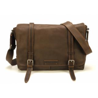 Arthur & Aston Johany Bag Leather Chataigne