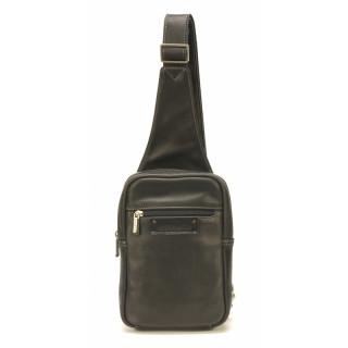 Arthur & Aston Johany Grand Body Bag Cuir Noir
