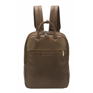 Arthur & Aston Johany Chataigne Leather Backpack